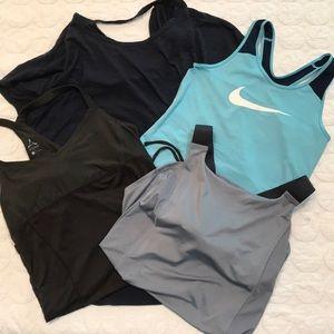{Nike} {Aspire} Workout Top Bundle LARGE